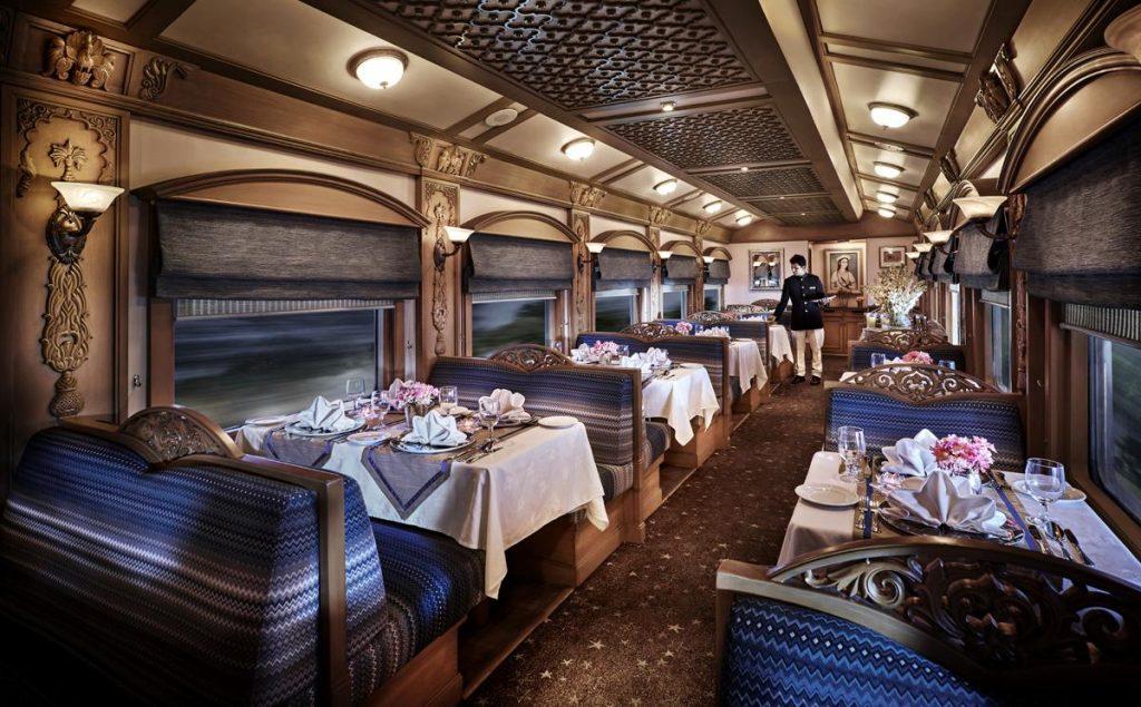 Treno di lusso in India - Ristorante in Deccan Odyssey